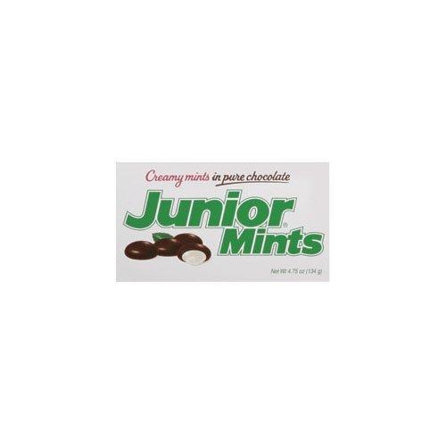 Junior Mints Junior Mints Theatre Box (Economy Case Pack) 4 Oz Box (Pack of 12) by Junior Mints