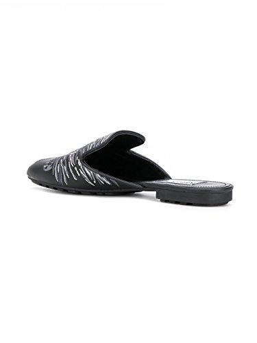 Sandales Cuir F852MU126L7699 Noir Femme Kenzo qwISfFn