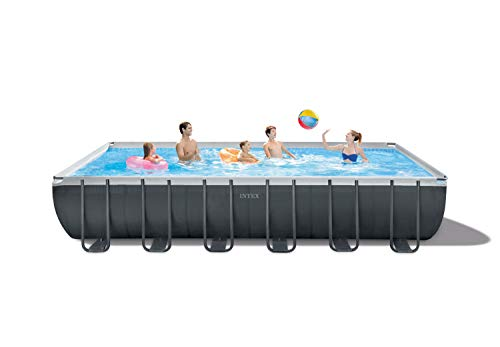 Intex 26367EH Ultra XTR Set Above Ground Pool, Gray (Intex Ultra Frame)