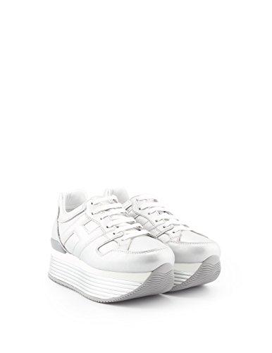 Hogan Kvinder Hxw3520t548i6eb200 Sølv Læder Sneakers 3gjblHdupg