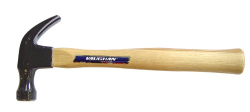 Vaughan 133-50 DD16 Curved Claw Double Duty Hammer, 16-Ounce, Hickory Handle by Vaughan