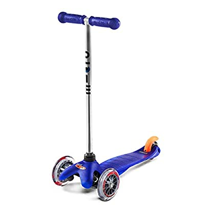Micro Kickboard MM0283 Micro Mini Kick Scooter, Blue, Ages 2-5 : Sports Kick Scooters : Sports & Outdoors