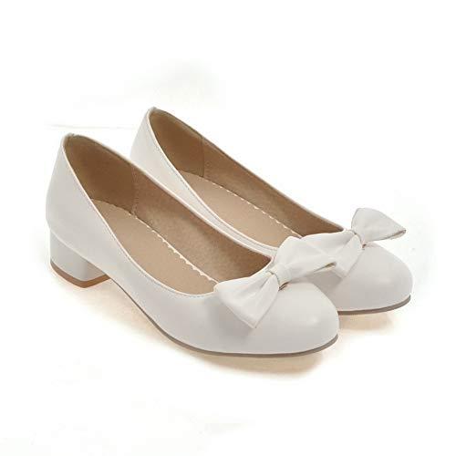5 EU Blanc 36 Compensées Femme AdeeSu Blanc SDC05529 Sandales 1WAAq6wa