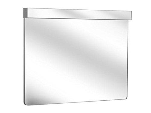 Keuco Lichtspiegel Elegance 11696, Beleuchtung rot/weiß, 1300 x 705 mm, 11696013001