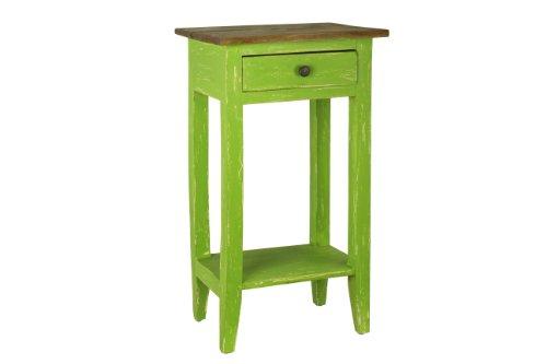 Antique Revival Avignon Side Table, Green