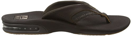 Reef Leather Fanning - Sandalias Hombre Marrón (Brown)