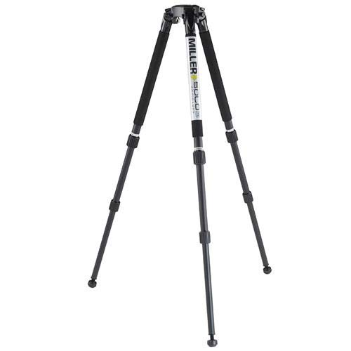 Miller Solo DV Alloy 2-Stage Tripod Legs with 75mm for sale  Delivered anywhere in USA