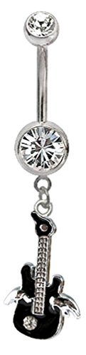 Guitar Belly Button Ring - 9