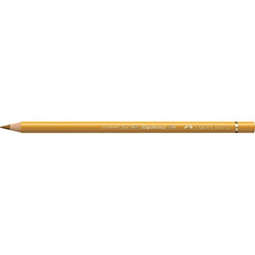 Faber-Castell Polychromos Artists' Single Pencil - Colour 183 Light Yellow Ochre - Colored Yellow Pencil