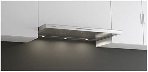 Pando P-890 680 m³/h Encastrada Acero inoxidable - Campana (680 m³/h, Canalizado, 38 dB, 55 dB, Encastrada, Acero inoxidable): Amazon.es: Hogar