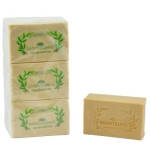 Papoutsanis Pure Greek Olive Oil Soap 6 PACK of 8.8 Oz (250g) (Olive Oil Salt Face)