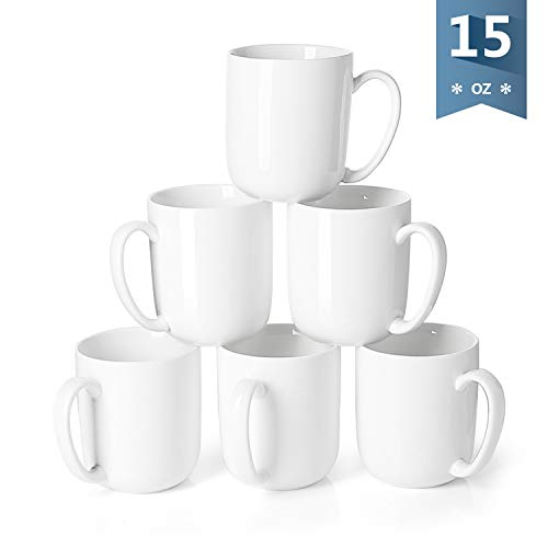 Sweese 604.001 Porcelain Mugs for Coffee, Tea, Cocoa,