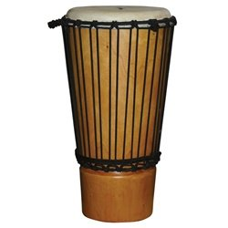 X8 Drums & Percussion X8-ASH-M Traditional Ashiko Drum, Medium by X8 Drums & Percussion