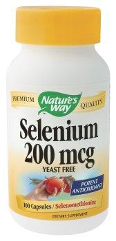 Nature Way - Sélénium, 200 mcg, 100 capsules