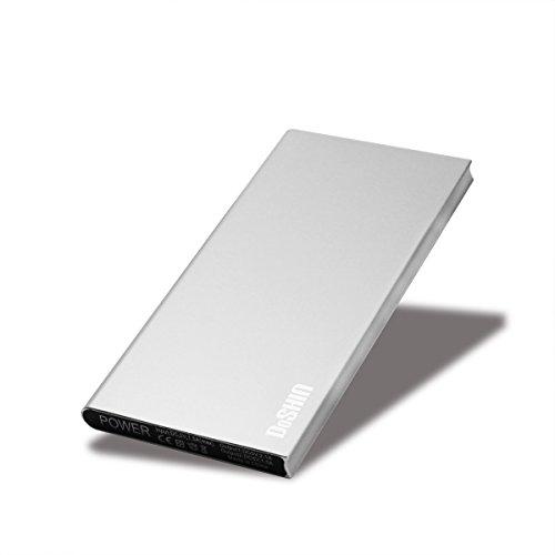 Slim 12000mAh Power Bank (Silver) - 5