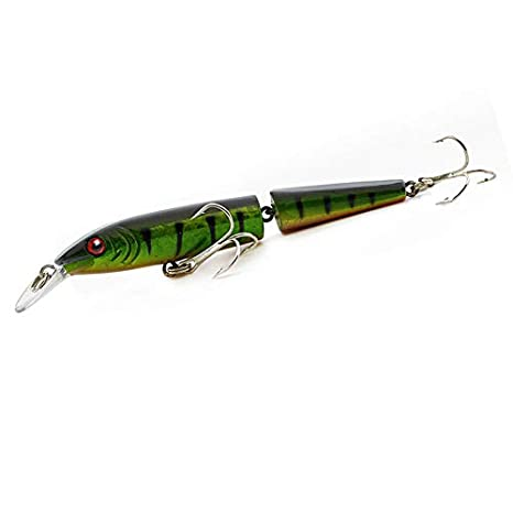Fishing Lures Crankbait Artificial Multi Jointed Sections Fake Bait Wobblers