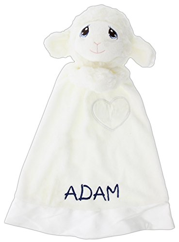 Personalized Embroidered Precious Moments Luvster Blanket (Luffie Lamb)
