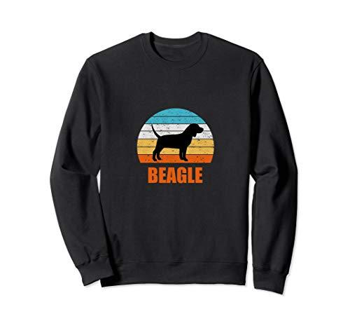 Sweatshirt Adult Beagle - Cute Beagle Sunset Puppy Dog Sweatshirt