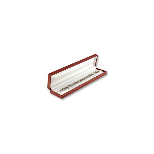 Bracelet Jewelry Box Red Leatherette Cartier Design