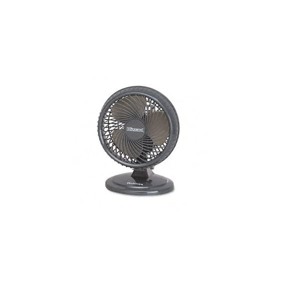 Holmes 8-Inch Fan | Lil' Blizzard Oscillating Table Fan, Black 2 Two powerful speed settings Oscillation for wide coverage area Tilt-adjustable head allows you to direct airflow wherever you want it