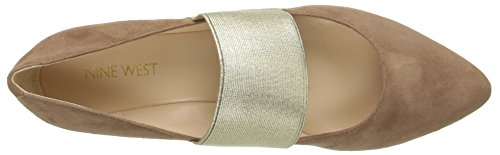 Pictures of Nine West Women's Seabrook Suede Ballet Flat 5 M US 2