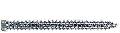 verzinkt blau 7.5x182 Zylinderkopf TX30 Fensterrahmenschraube 100 ST