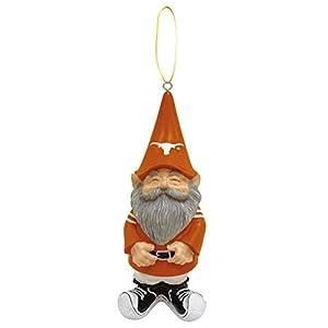 Evergreen NCAA Texas Longhorns Ornament Gnome Design, Team Color, One Size