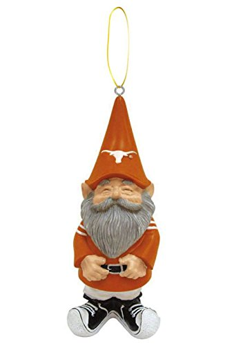 - Evergreen NCAA Texas Longhorns Ornament Gnome Design, Team Color, One Size