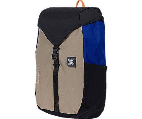 Herschel Supply Co. Men's Trail Barlow Medium Backpack, Black/Brindle/Surf the Web, One Size]()