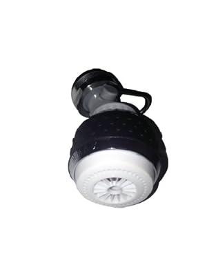 Niagara N3115V-FC 1.5 GPM Dual Spray with Valve Control Kitchen Aerator, Black and White