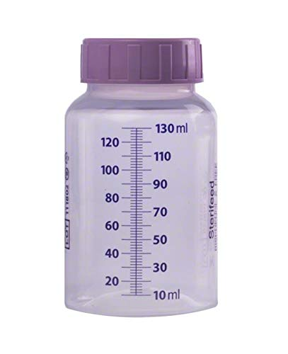 Sterifeed Sterile Baby Bottle, Disposable, 130ml (4oz), Pack of 10