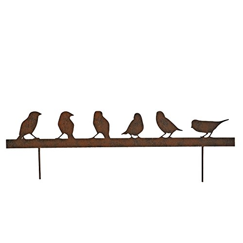 Silhouette familia pájaros 70 x 12 cm: Amazon.es: Hogar