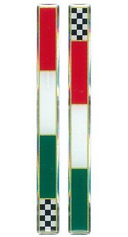 1 opinioni per Quattroerre 14080 Sticker Adesivo 3D Bandiera Slim Italia Scacchi Dx-Sx