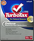 Electronics : The Best TurboTax 2008 Deluxe Federal Returns + eFile-42040 - TurboTax Deluxe 2008 for Federal Returns can help maximize your deductions with mortgage interest, donations, education expenses, and medical expenses - over 350 in all! It guides you step-by-step and asks you questions in plain English then puts your answers on IRS- and state-approved forms. TurboTax Deluxe 2008 was designed to make it easy for you to take advantage of all the deductions you qualify for, so you