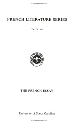 amazoncom the french essay french literature no