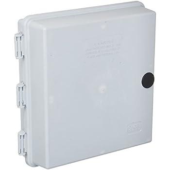 telephone enclosure weatherproof nema 4x office electronics rh amazon com Smallest Structured Wiring Enclosure Low Voltage Enclosures