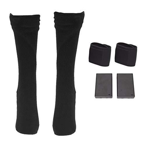 VISLONE Verwarmde sokken voor dames en heren, elektrisch verwarmde sokken, voetwarmer voor mannen en vrouwen, oplaadbare…