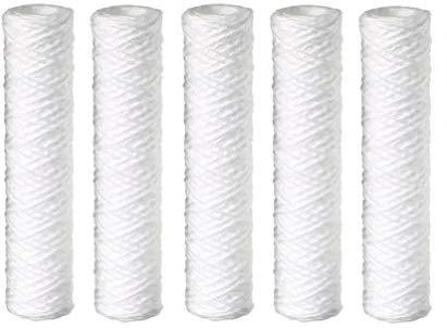 Pentek WP-5 String-Wound Polypropylene Filter Cartridge, 9-7/8″ x 2-1/4″, 5 Micron (5-(Pack))