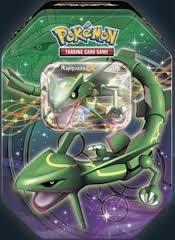 Pokemon 2012 Dragons Exalted Rayquaza-EX Legendary Collector's Tin Black & White