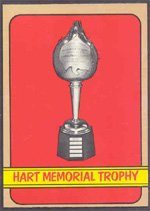 1972 Topps Regular (Hockey) Card# 171 Hart Mem. Trophy of the Boston Bruins ExMt Condition from Topps
