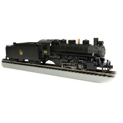(Bachmann Industries Trains Usra 0-6-0 with Smoke & Short Haul Tender Jersey Central #105 Ho Scale Steam)