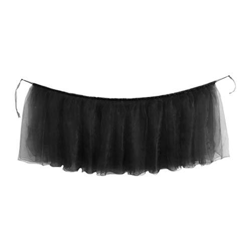 Table Skirts,coersd 1pc Table Skirt Cover Birthday Wedding Festive Party Decor Table Cloth (D)