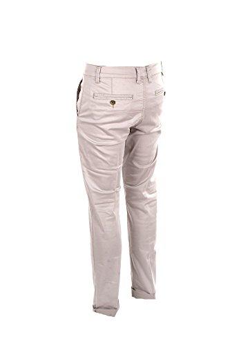 Pantalone Uomo Virginia Blu 50 Beige P00128 8097 Dw Karl Primavera Estate 2018