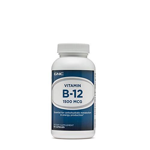 GNC Vitamin B12 1500 MCG 90 - Gnc Vitamins B-12