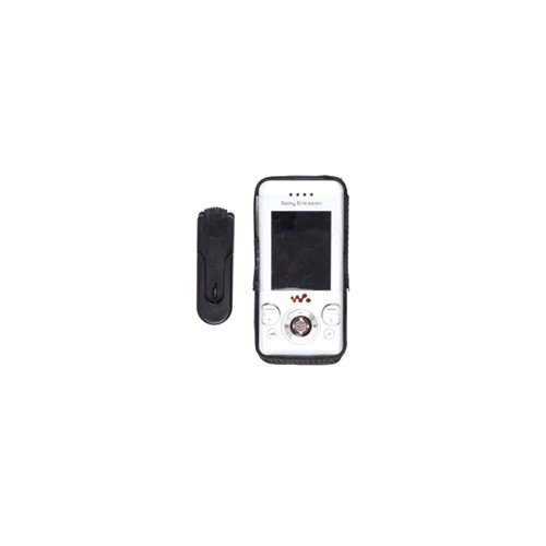 (Wireless Solutions 311182-Z Swivel Clip Leather Case for Sony Ericsson)