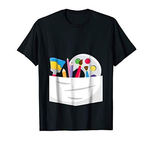 Funny Halloween Artist Costume T-shirt For Art Lovers ()