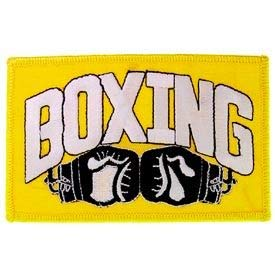 """Boxing - Novelty Embroidered Patches, Premium Quality Iron On Patch - 4.5"""""""