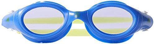 Adidas aquazilla J 1pc Lunettes anti-chlore, enfant, Bleu/Vert, Taille unique
