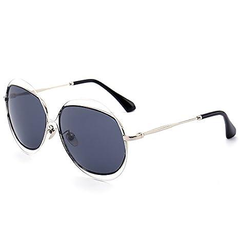 GCR Occhiali Da Sole Ombra Polarizzante Occhiali Nuovi Occhiali Da Sole Filo 2016 Con Doppio Anello Moda Lady Occhiali Metallo , C4