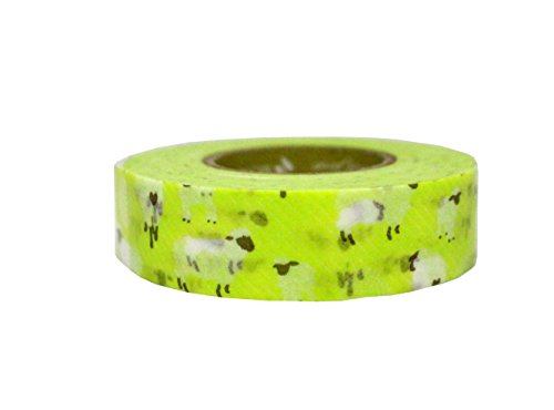 (Petit Joie Sheep Washi Masking Deco Tape Made in Japan 15mm)